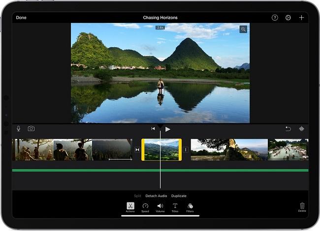iMovie Best Green Screen Software