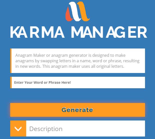 Anagrammaker.online